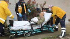 Ordu'da Zabıtaya hitabıyla duygulandıran Burhan amca hastaneye kaldırıldı