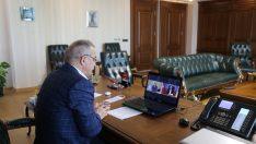 Başkan Şahin Üyelerinin Sorunlarını Bakan Pekcan'a İletti