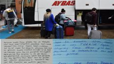 Ordu'da Karantina sürecini geçirenler geride duygu dolu mektuplar bıraktı
