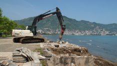 Ordu Büyükşehir Tayfun Gürsoy Parkını Yenileniyor