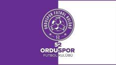 52 Orduspor FK'nin Kovid-19 testleri negatif çıktı