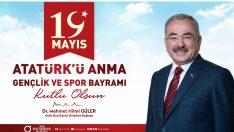 Başkan Güler, 19 Mayıs Gençlik, Gençlik İse Gelecek Demektir