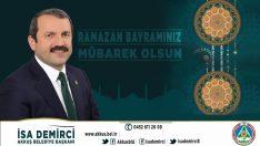 Başkan Demirci'nden Ramazan Bayramı Mesajı