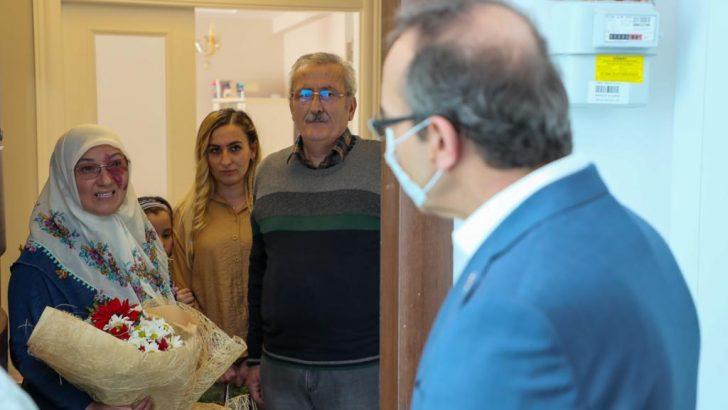 Vali Yavuz, Anneler Günü'nde Şehit Annelerini Unutmadı