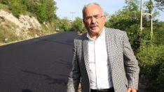 Başkan Güler, Grup Yoluna İlk Kez Sıcak Asfalt Döküldü