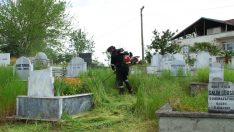 Ordu Büyükşehir Mezarlıkları Bayrama Hazırlıyor