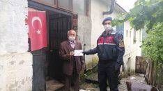 Ordu'da 81 yaşında bir kişi emekli maaşını Milli Dayanışma Kampanyasına bağışladı