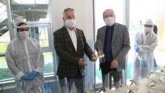 Ordu Büyükşehir Şoförlere Siperli Maske Dağıtıldı