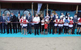 Ordu'da kano ve yelken sporu tesisi açıldı