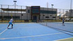 Ordu Büyükşehir Tenis Kortları Orduluları Bekliyor