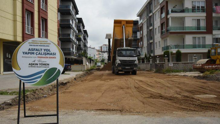 Altınordu  Belediyesi Sorunları Çözmeye Başladı.