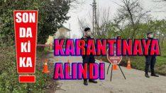 Ordu Gürgentepe'de Kirazgüneyi Mahallesi Karantinaya Alındı